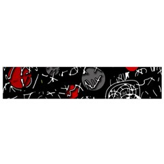 Red mind Flano Scarf (Small)