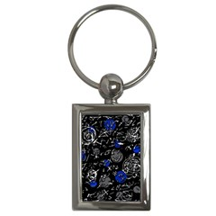 Blue mind Key Chains (Rectangle)