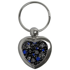Blue mind Key Chains (Heart)