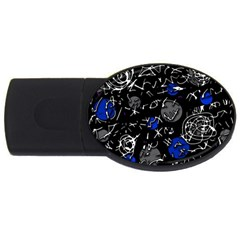 Blue mind USB Flash Drive Oval (2 GB)