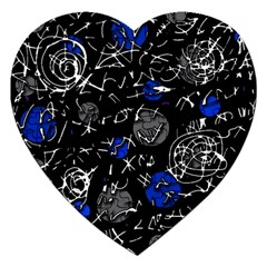 Blue mind Jigsaw Puzzle (Heart)