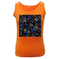 Blue mind Women s Dark Tank Top