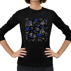 Blue mind Women s Long Sleeve Dark T-Shirts