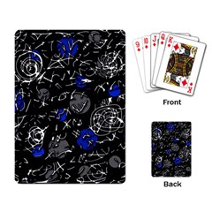 Blue mind Playing Card