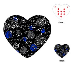 Blue mind Playing Cards (Heart)