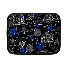 Blue mind Netbook Case (Small)