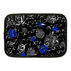 Blue mind Netbook Case (Medium)