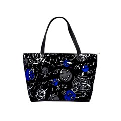 Blue mind Shoulder Handbags