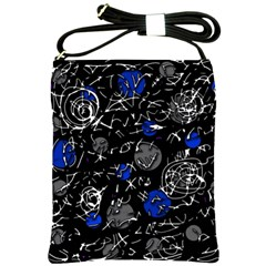 Blue mind Shoulder Sling Bags