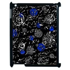 Blue mind Apple iPad 2 Case (Black)