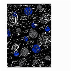 Blue mind Small Garden Flag (Two Sides)