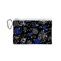 Blue mind Canvas Cosmetic Bag (S)