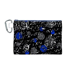 Blue mind Canvas Cosmetic Bag (M)
