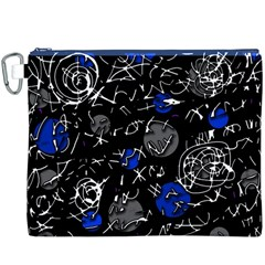 Blue mind Canvas Cosmetic Bag (XXXL)