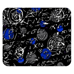 Blue mind Double Sided Flano Blanket (Small)