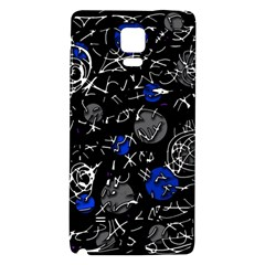 Blue mind Galaxy Note 4 Back Case
