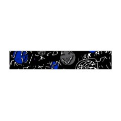 Blue mind Flano Scarf (Mini)