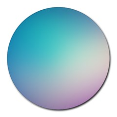 Background Blurry Template Pattern Round Mousepads