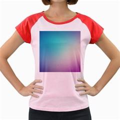 Background Blurry Template Pattern Women s Cap Sleeve T-Shirt