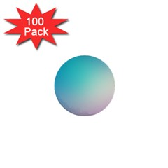 Background Blurry Template Pattern 1  Mini Buttons (100 pack)