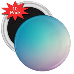 Background Blurry Template Pattern 3  Magnets (10 pack)
