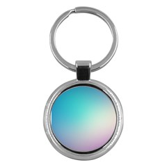 Background Blurry Template Pattern Key Chains (Round)