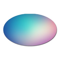 Background Blurry Template Pattern Oval Magnet
