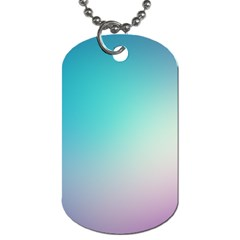Background Blurry Template Pattern Dog Tag (One Side)