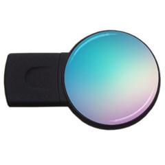 Background Blurry Template Pattern USB Flash Drive Round (1 GB)