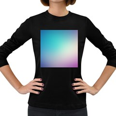Background Blurry Template Pattern Women s Long Sleeve Dark T-Shirts