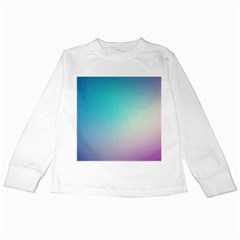 Background Blurry Template Pattern Kids Long Sleeve T-Shirts