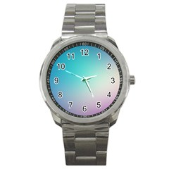 Background Blurry Template Pattern Sport Metal Watch