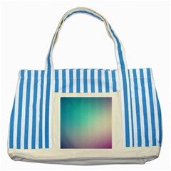 Background Blurry Template Pattern Striped Blue Tote Bag