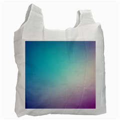 Background Blurry Template Pattern Recycle Bag (Two Side)