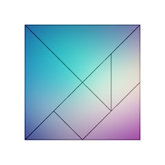 Background Blurry Template Pattern Acrylic Tangram Puzzle (4  x 4 )