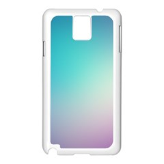 Background Blurry Template Pattern Samsung Galaxy Note 3 N9005 Case (White)