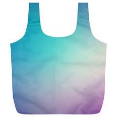 Background Blurry Template Pattern Full Print Recycle Bags (L)
