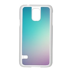 Background Blurry Template Pattern Samsung Galaxy S5 Case (White)