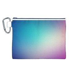 Background Blurry Template Pattern Canvas Cosmetic Bag (L)