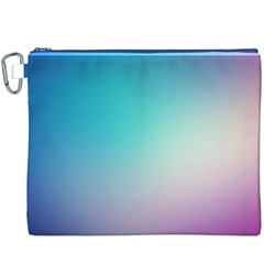 Background Blurry Template Pattern Canvas Cosmetic Bag (XXXL)