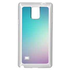 Background Blurry Template Pattern Samsung Galaxy Note 4 Case (White)