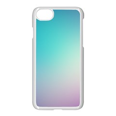 Background Blurry Template Pattern Apple iPhone 7 Seamless Case (White)