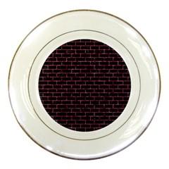 BRK1 BK-PK MARBLE Porcelain Plates