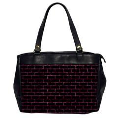 BRK1 BK-PK MARBLE Office Handbags