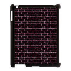 BRK1 BK-PK MARBLE Apple iPad 3/4 Case (Black)