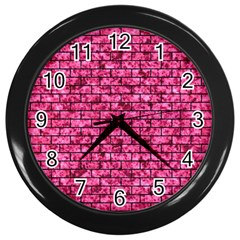 BRK1 BK-PK MARBLE (R) Wall Clocks (Black)