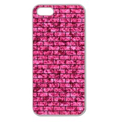 BRK1 BK-PK MARBLE (R) Apple Seamless iPhone 5 Case (Clear)