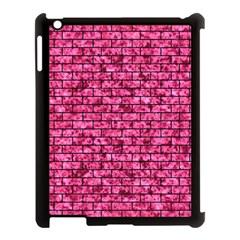 BRK1 BK-PK MARBLE (R) Apple iPad 3/4 Case (Black)