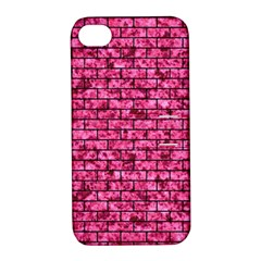 BRK1 BK-PK MARBLE (R) Apple iPhone 4/4S Hardshell Case with Stand