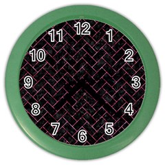 BRK2 BK-PK MARBLE Color Wall Clocks